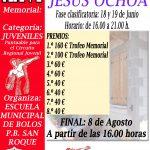 XXVI MEMORIAL JESÚS OCHOA BOLO PALMA – Fase Clasificatoria